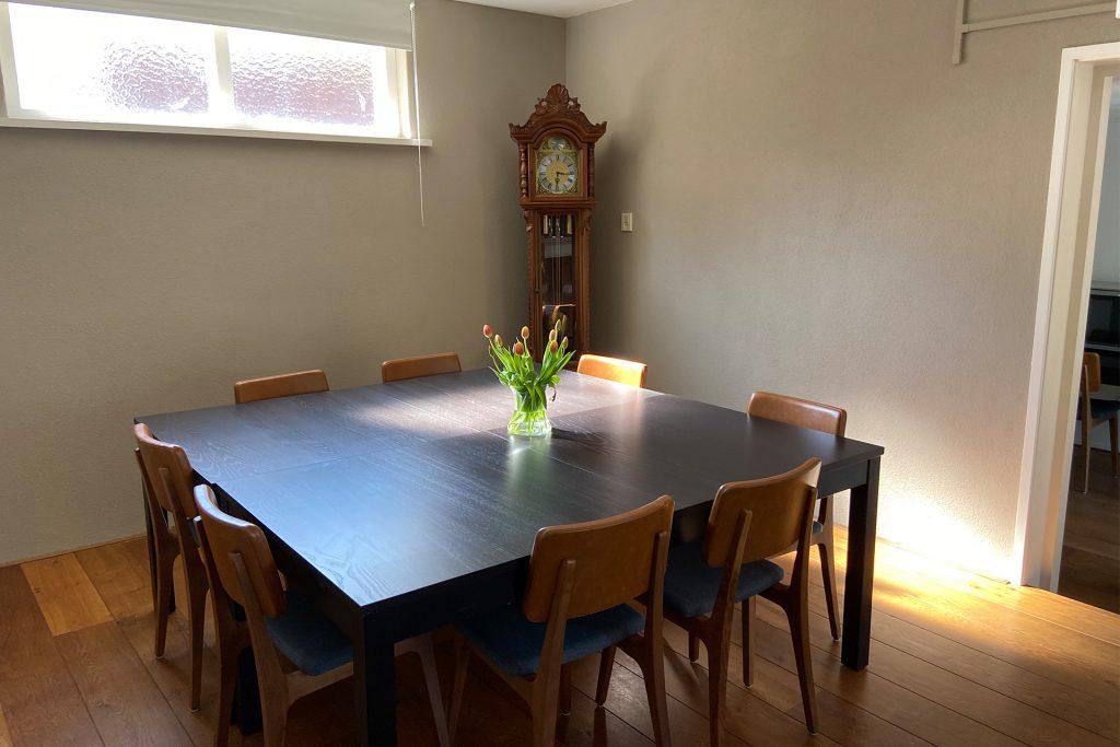 Spreekkamer 't Witte Hoes tafel