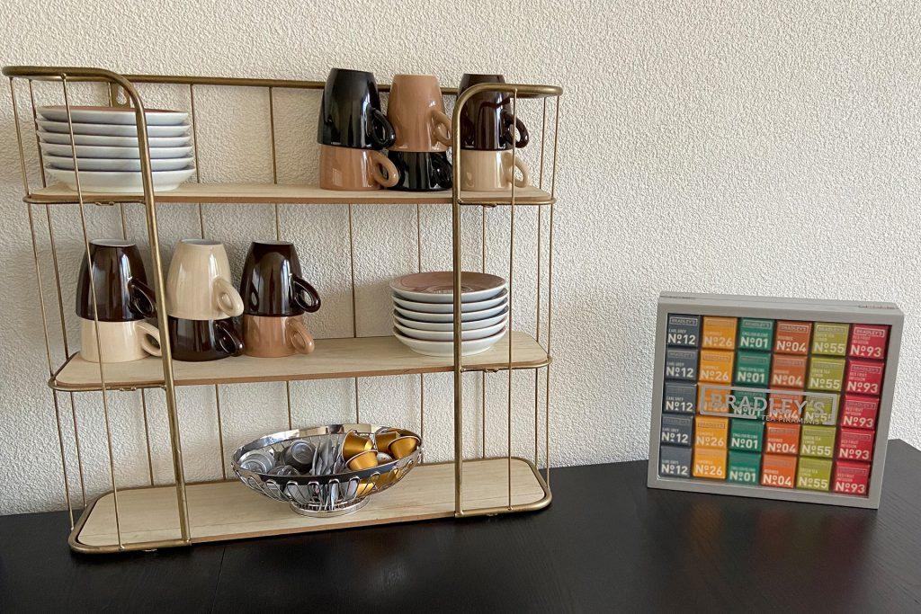 Witte Hoes keuken achterhuis koffie en thee